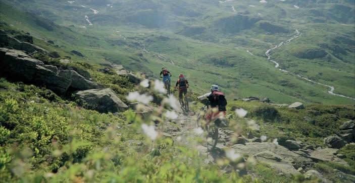 Trail mountain bike Briançon