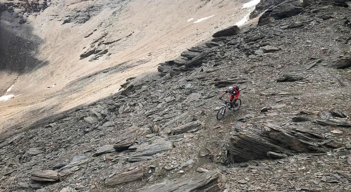 "Pure ""mountain biking""!"