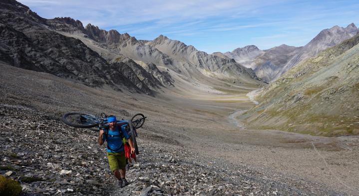 Val Maira mountain bike!