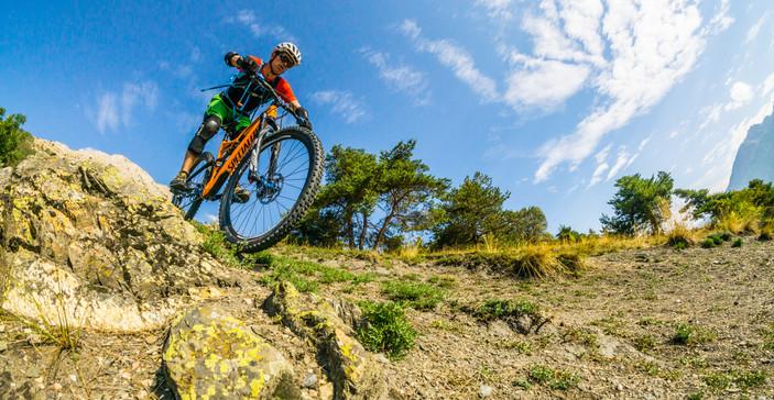 Enduro mountain bike Briançon