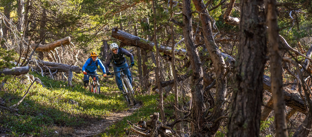 Enduro mountain biking in Serre Chevalier!