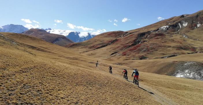 La Grave mountain bike!