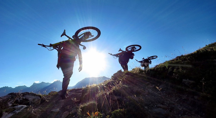 Mont Thabor by mountain bike!