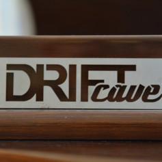 Drift Cave Logo Plate