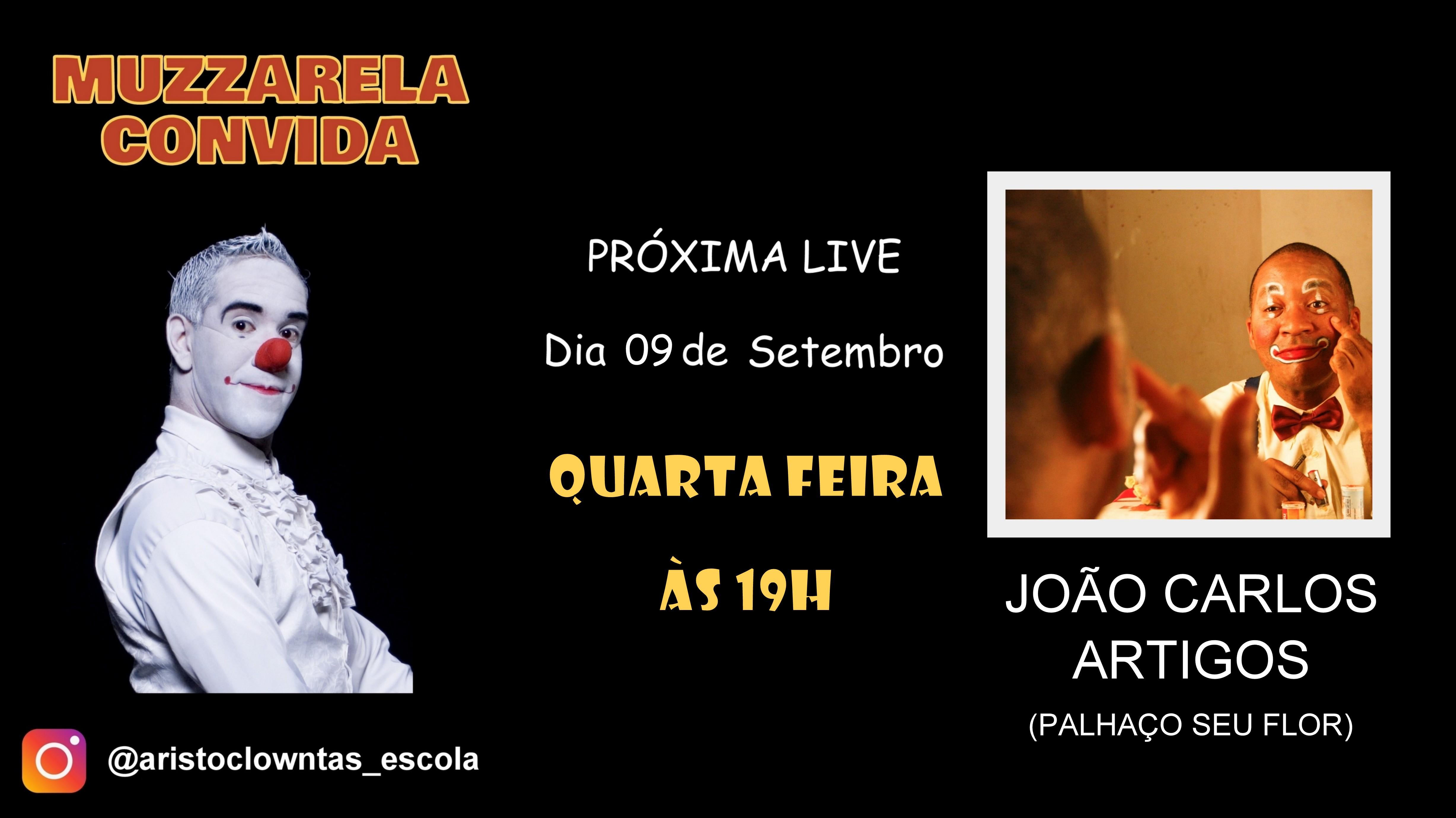 Talk Show do Muzzarela com João Carlos Artigos