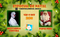 Talk Show do Muzzarela com Papai Noel