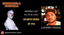 Talk Show do Muzzarela com Luciano Vidigal