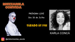 Talk Show do Muzzarela com Karla Concá