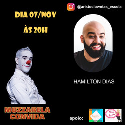 Talk Show do Muzzarela com Hamilton Dias