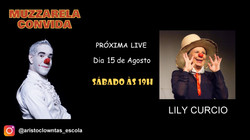 Talk Show do Muzzarela com Lily Curcio