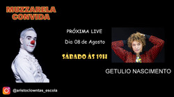 Talk Show do Muzzarela com Getulio Nascimento