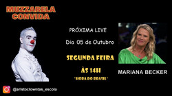 Talk Show do Muzzarela com Mariana Becker