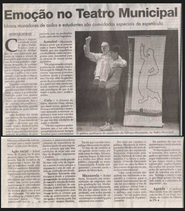 BRINCANTE Teatro Municipal Niterói