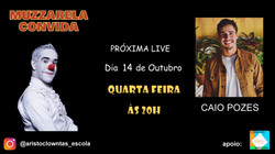 Talk Show do Muzzarela com Caio Pozes