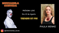 Talk Show do Muzzarela com Paula Wenke