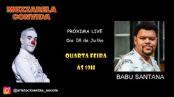 Talk Show do Muzzarela com Babu Santana
