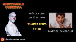 Talk Show do Muzzarela com Marcello Melo Júnior