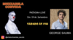 Talk Show do Muzzarela com George Sauma.