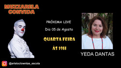 Talk Show do Muzzarela com Yeda Dantas