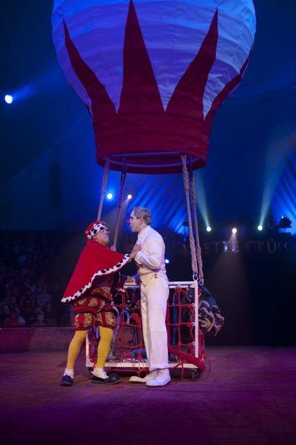 Muzzarela no Cirque Arlette Gruss
