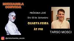 Talk Show do Muzzarela com Tarso Mosci