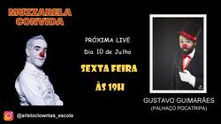 Talk Show do Muzzarela com Gustavo Guimarães (Palhaço Pocatripa)