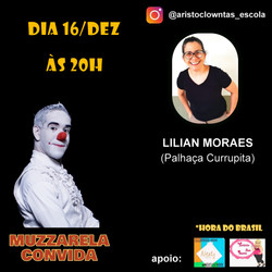 Talk Show do Muzzarela com Lilian Moraes