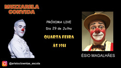 Talk Show do Muzzarela com Ésio Magalhães