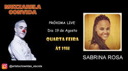 Talk Show do Muzzarela com Sabrina Rosa.