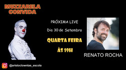 Talk Show do Muzzarela com Renato Rocha.
