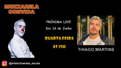 Talk Show do Muzzarela com Thiago Martins
