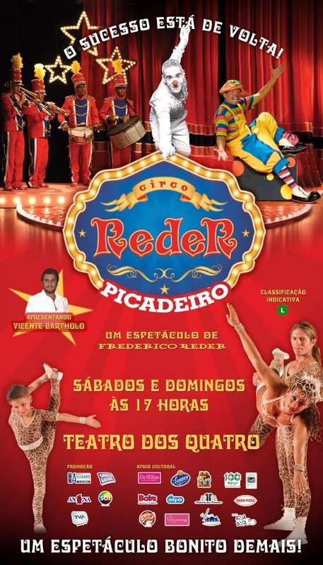 Cartaz do Circo Reder