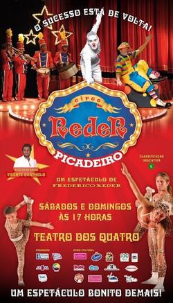 Cartaz do Circo Reder