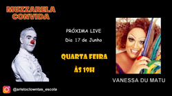 Talk Show do Muzzarela com Vanessa du Matu