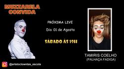 Talk Show do Muzzarela com Tamiris Coelho (Palhaça Fadiga)