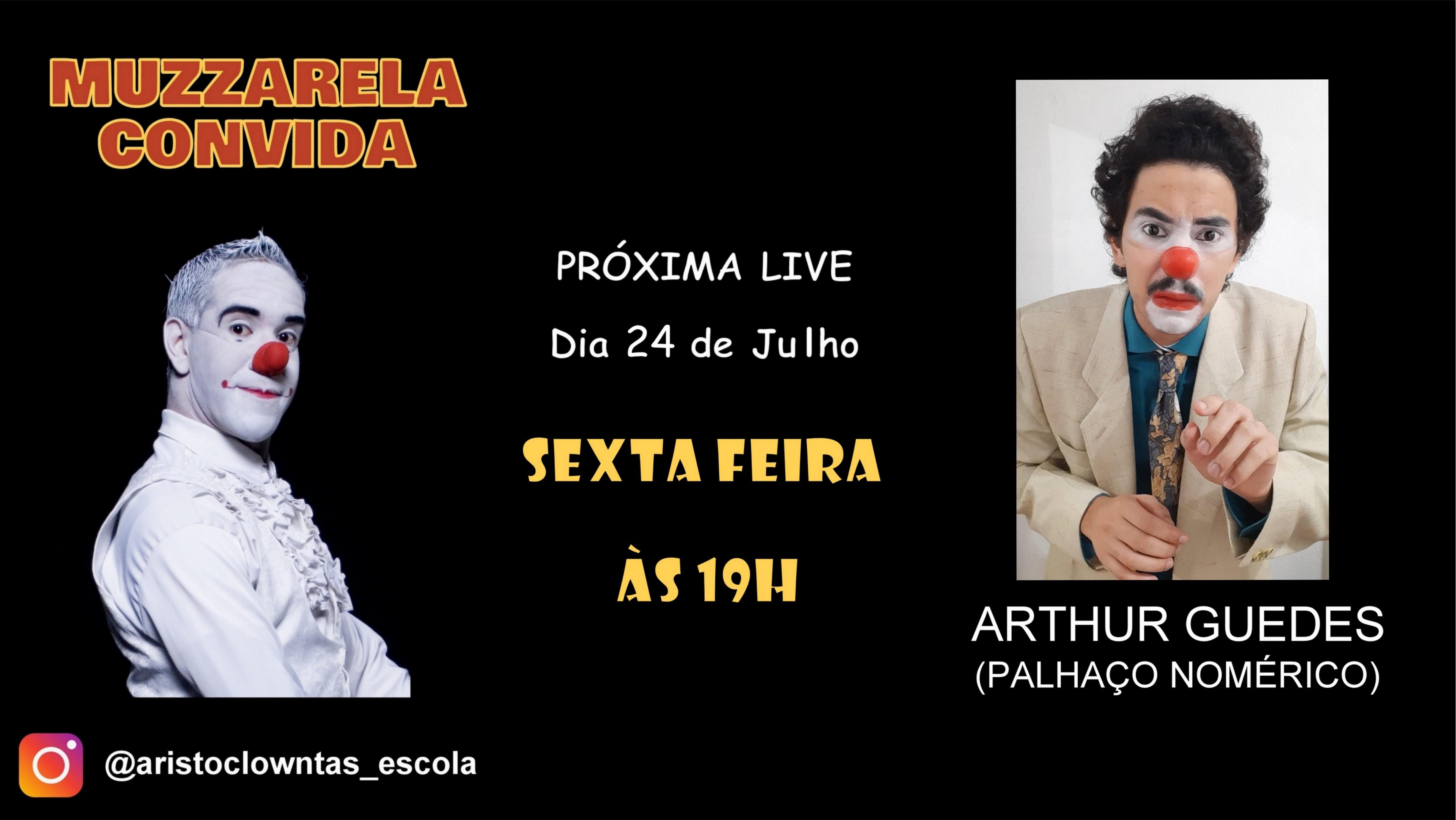 Talk Show do Muzzarela com Arthur Guedes (Palhaço Nomérico)