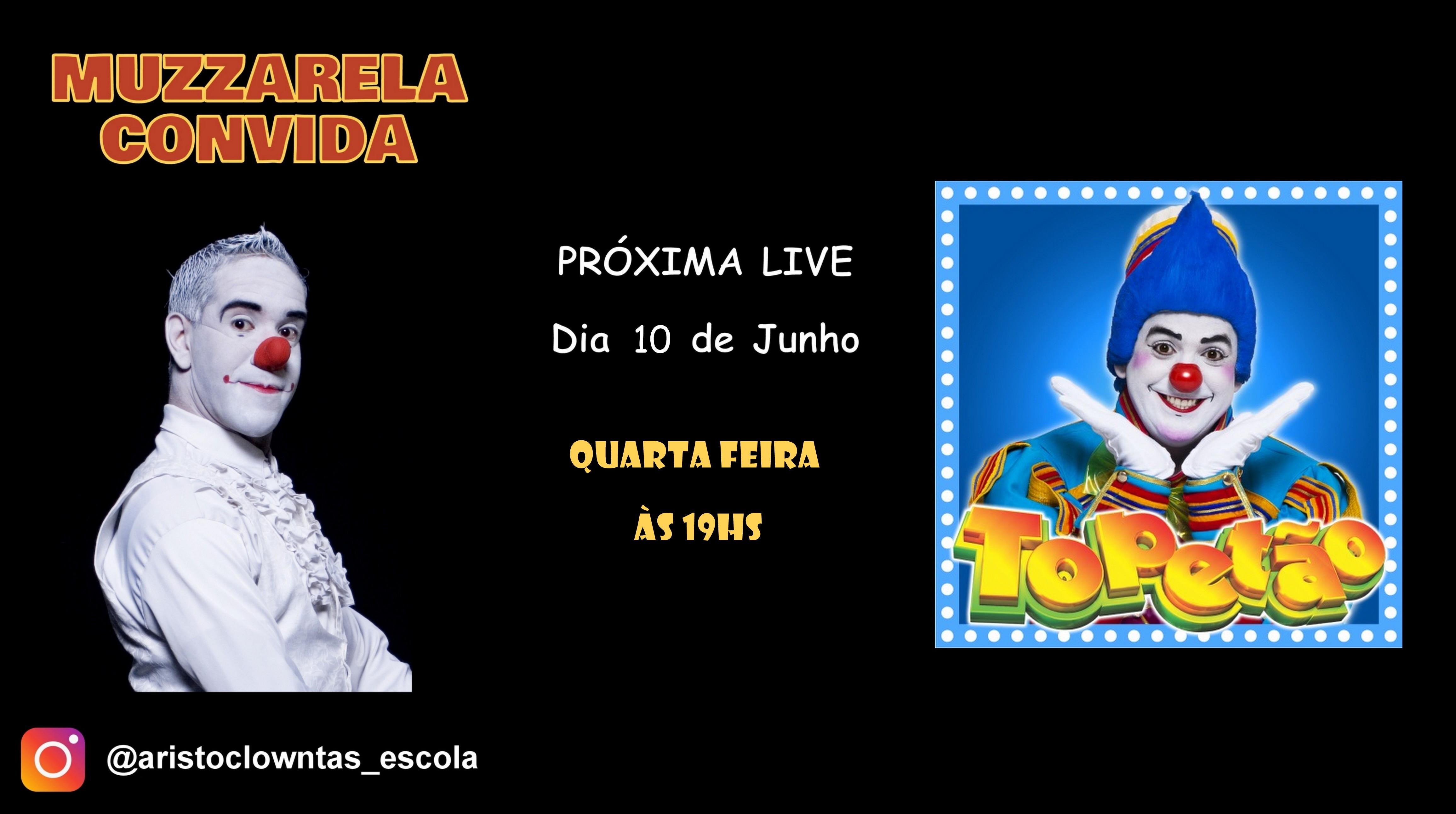 Talk Show do Muzzarela com Palhaço Topetão