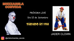Talk Show do Muzzarela com Jader Clown