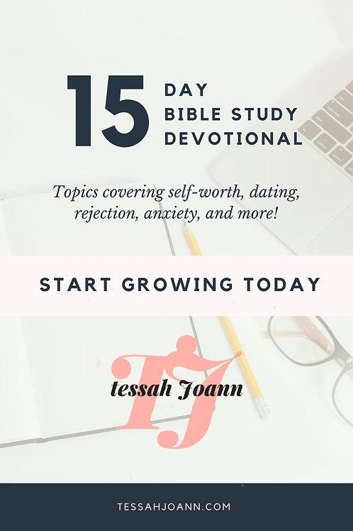 15 Day Devotional