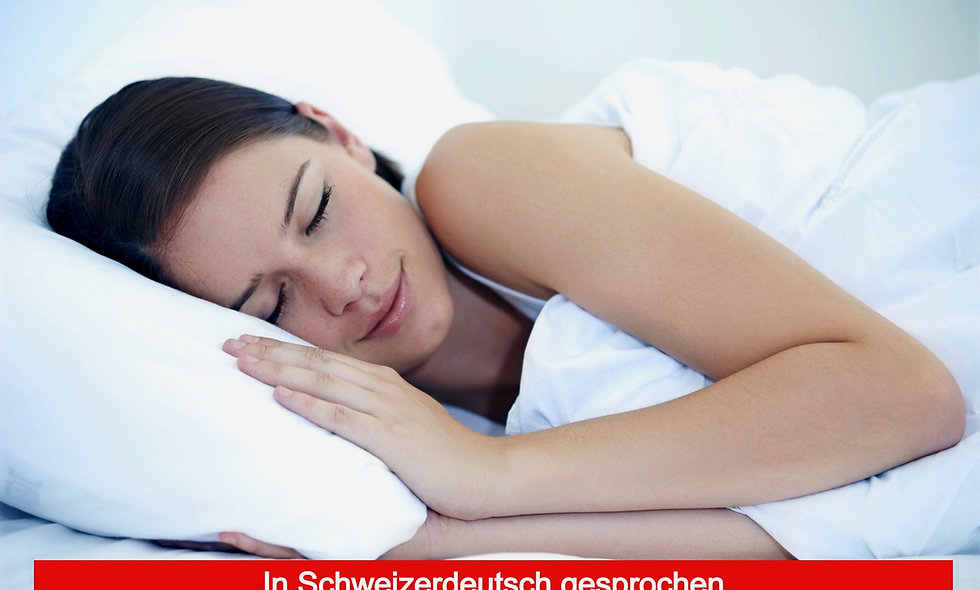 Hypnose für tiefen und erholsamen Schlaf MP3 (CH)