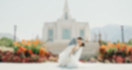 LDS ogden temple wedding photographer, summer wedding utah