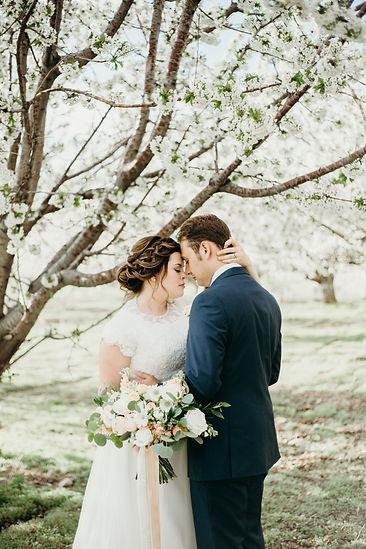 Utah Spring Orchard Bridals