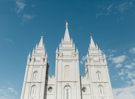 summer salt lake lds temple wedding