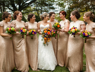 An Enchanting Fall Wedding At Rocky's Lake Estate