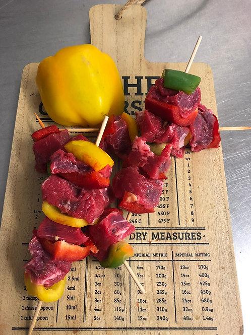 Large Beef Kebabs