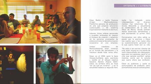 Machucabotones en Epitome Magazine