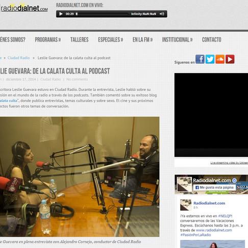 Leslie Guevara: de La calata culta al podcast