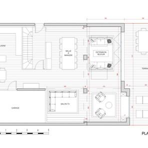 Extension de maison individuelle,