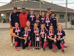 USSSA Finda  Cure 2nd place