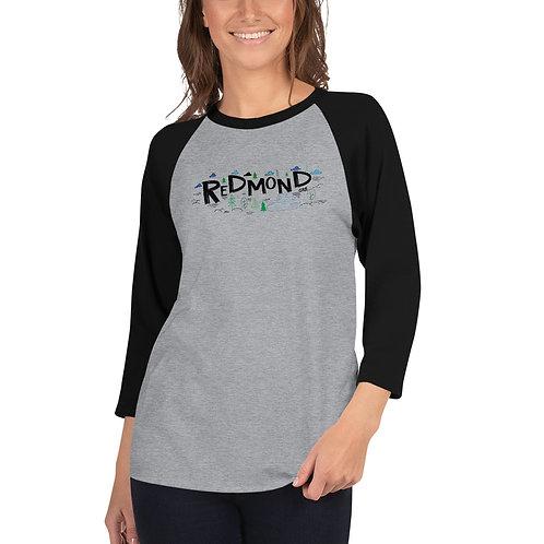 Redmond Nature - 3/4 sleeve raglan shirt
